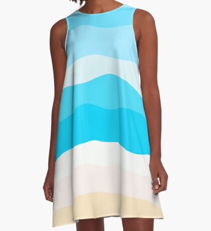 AFE Waves A-Line Dress