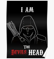 I am the Devils Head Poster