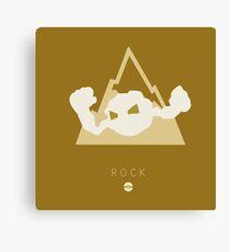 Pokemon Type - Rock Canvas Print