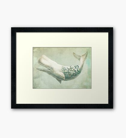 Far and Wide Framed Print