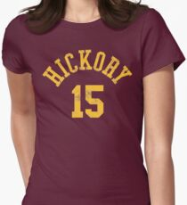 Hoosiers Movie Jimmy Chitwood Jersey Women's Fitted T-Shirt