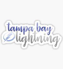 Tampa Bay Lightning Watercolor Sticker