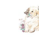 Bunny Birthday Card by StefLau