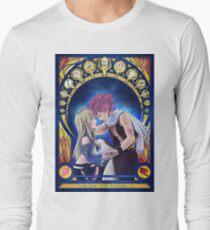 Camiseta de manga larga Natsu and Lucy