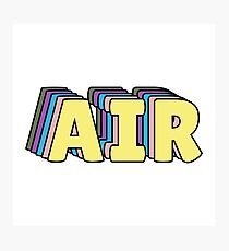 AIR SW Lookalike Photographic Print