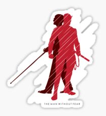 The Man Without Fear Sticker