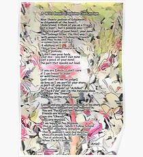A Wild Beast Explains Civilization poem Poster
