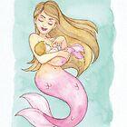 MerMay 2018: May 6th - Rocked Mermaid by dreampigment