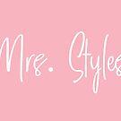 Mrs. Styles by Maria Alyssa Martinez
