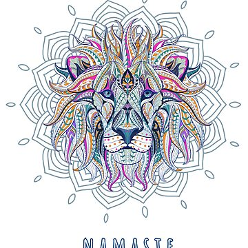 leo lion lion yoga mandala horoscopes star sign born july august birthday month astrology by originalstar