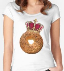 Bagel King Women's Fitted Scoop T-Shirt