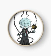 Cartoony Pinhead Clock