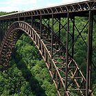 Neue Fluss-Schlucht-Brücke von jammingene