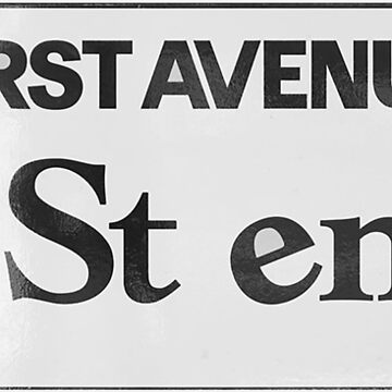 First Avenue and 7th Street Entry, PRN by thetshirtstore