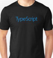 TypeScript TS Blue Official Logo Sweatshirt Unisex T-Shirt