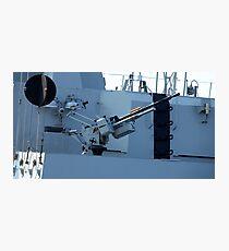 maritime heavy kalashnikov machine gun  Photographic Print