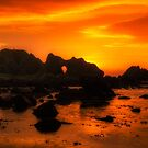 Rocky Sunset by peaky40