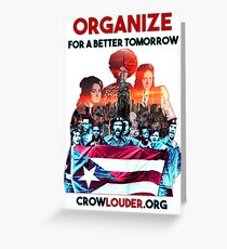 Young Lords - Organize Greeting Card