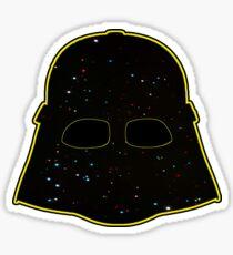 Darth helmet Sticker