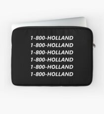 1-800-HOLLAND T-Shirt and More! | Tom Holland Laptop Sleeve