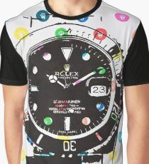 Rolex Submariner Dots Graphic T-Shirt
