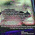 Black &  White poem by ArielPacNWpoet