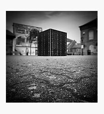 Cube Square Photographic Print