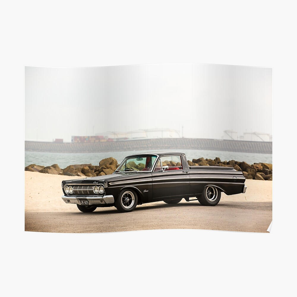 John Kerr's 1964 Mercury Comet / Ford Ranchero Poster