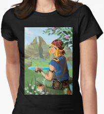 Camiseta entallada para mujer Legend of Zelda: Breath of the Wild