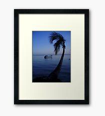 tranquil paradise Framed Print