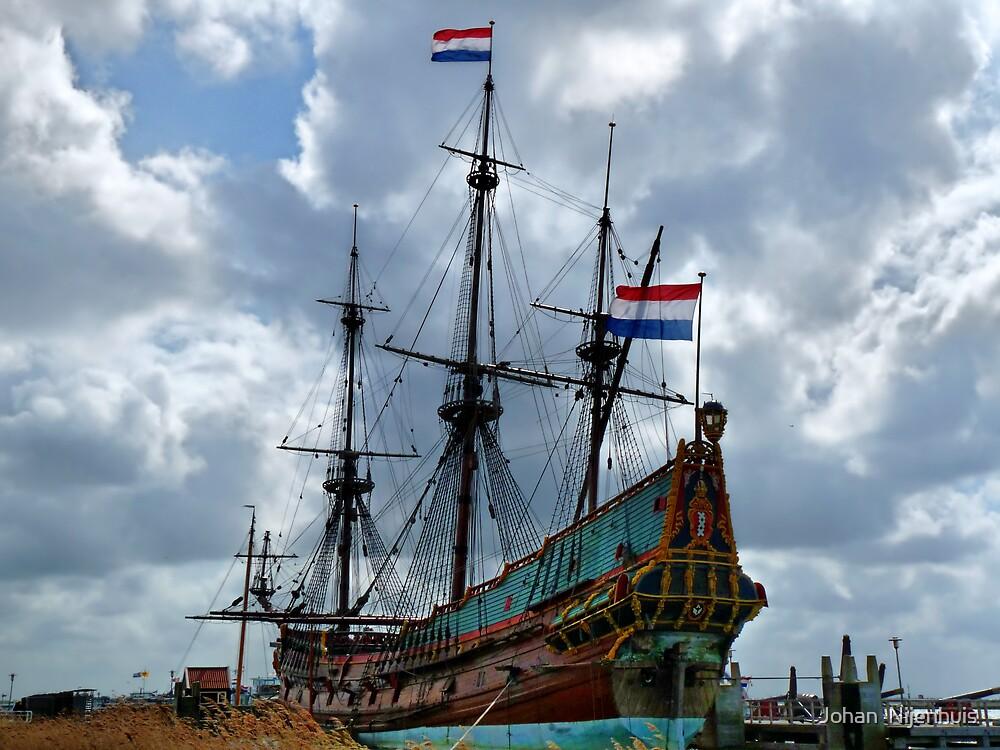 V.O.C. SHIP THE BATAVIA # 2 by Johan  Nijenhuis