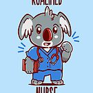Koalified Nurse - Koala Animal Pun Shirt by TechraNova