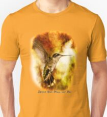 Spread Your Wings and Fly - Inspirational Design Unisex T-Shirt