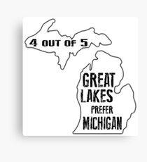Prefer Michigan Canvas Print