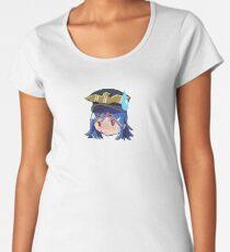 :no_u: emote Women's Premium T-Shirt