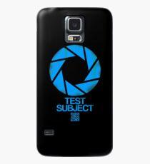 Test Subject T-shirt Case/Skin for Samsung Galaxy