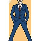 Doctor Who - The Tenth Doctor 'TEN' by PaulGCornish