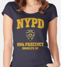99th Precinct - Brooklyn NY Women's Fitted Scoop T-Shirt