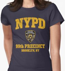 99th Precinct - Brooklyn NY Women's Fitted T-Shirt