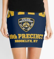 99th Precinct - Brooklyn NY Mini Skirt