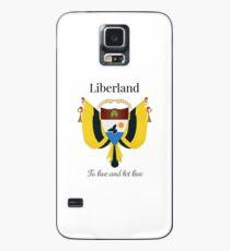 Liberland - Leben und leben lassen Hülle & Klebefolie für Samsung Galaxy