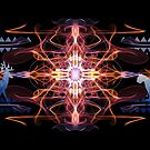 Energetic Geometry - Tribal Communion  by Leah McNeir