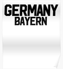 Germany Bayern ~ German Germany Berlin Poster
