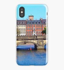 """Beautiful Copenhagen"", Photo / Digital Painting iPhone Case"