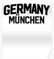 Germany Munchen Munich ~ German Germany Berlin Poster