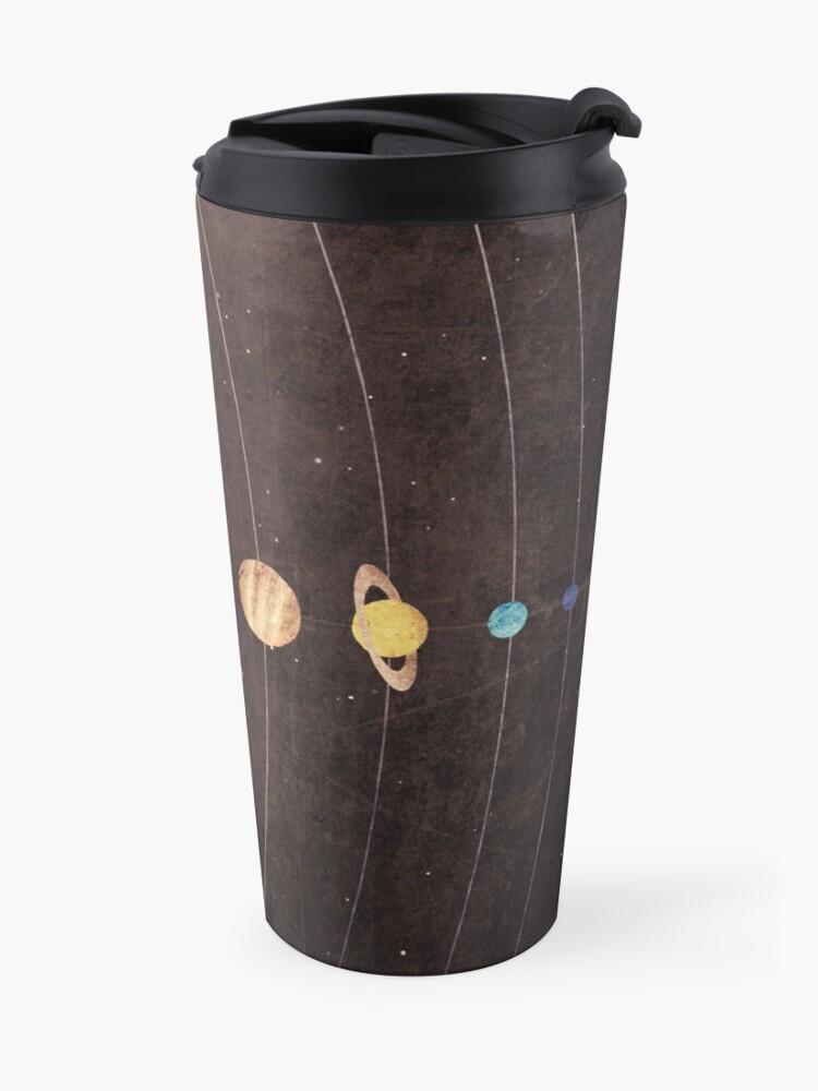 Alternate view of Solar System Travel Mug