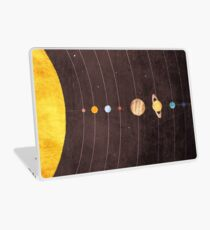 Sonnensystem Laptop Folie