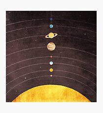 Solar System Photographic Print