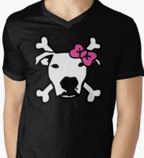 Lita Crossbones Men's V-Neck T-Shirt
