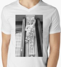 Powerful Woman Statue Men's V-Neck T-Shirt
